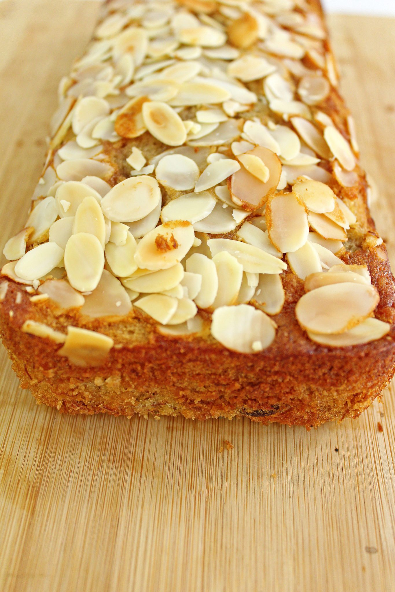 Banana--Almond-Bread