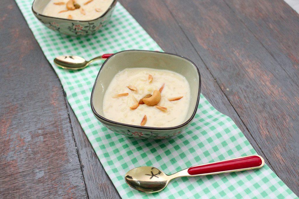 Rice kheer - Indian Rice Pudding