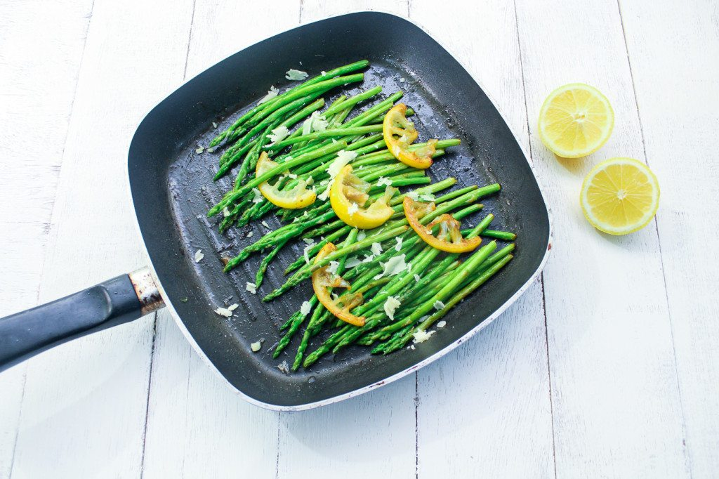 5 ingredients lemon asparagus