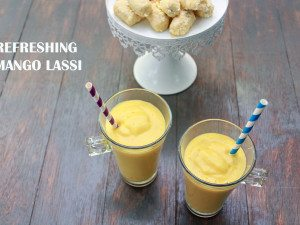 Refreshing Mango Lassi