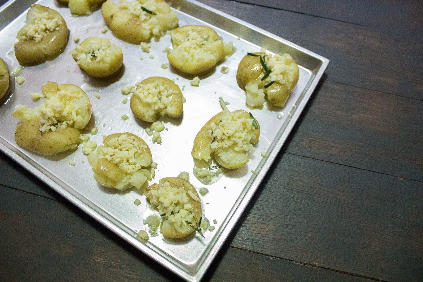 Garlic and Rosemary Smashed Potatoes-1-3