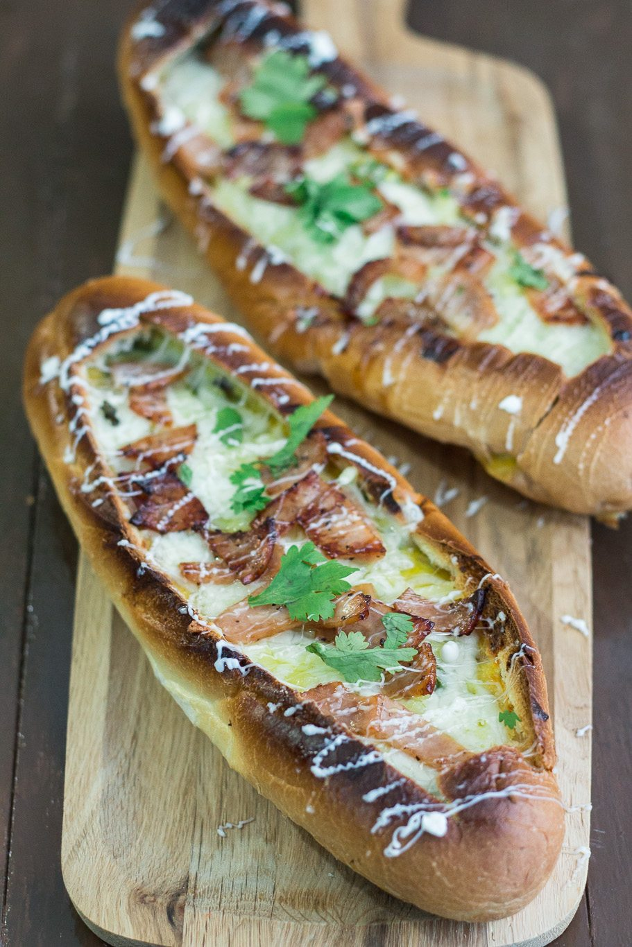 Egg Stuffed Baguette