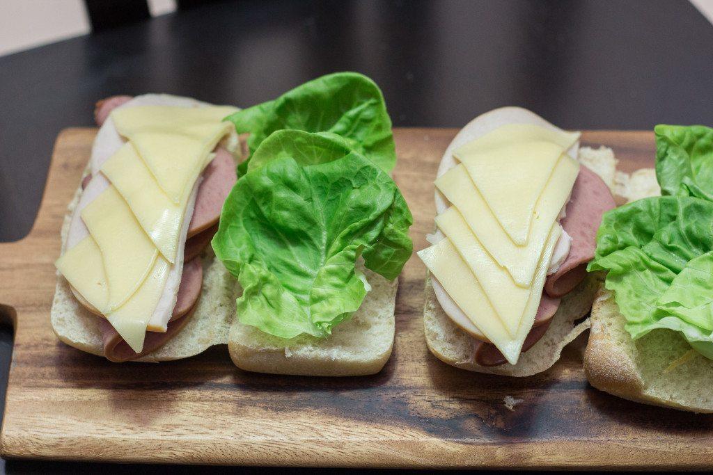 Homemade Subway Sandwich