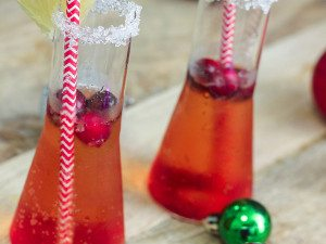 Cranberry Ginger Mocktail