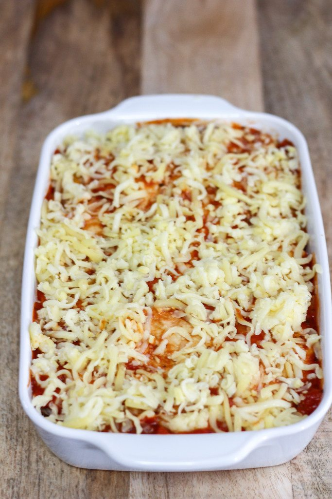 Easy Chicken Enchilada Lasagna