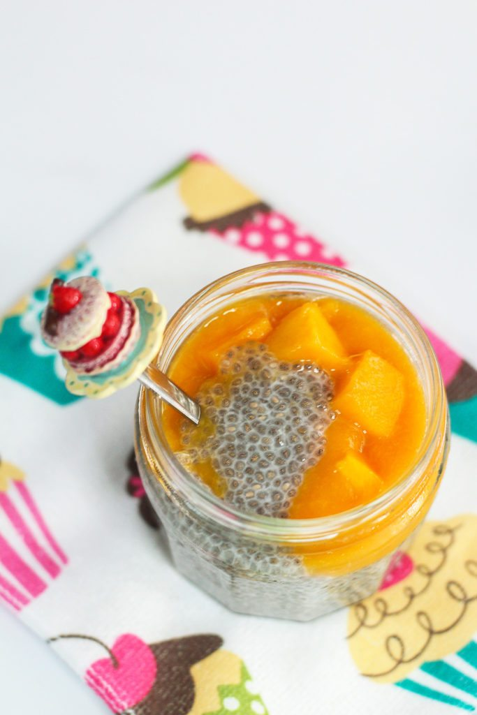 Delicious Mango and Coconut Chia Pudding