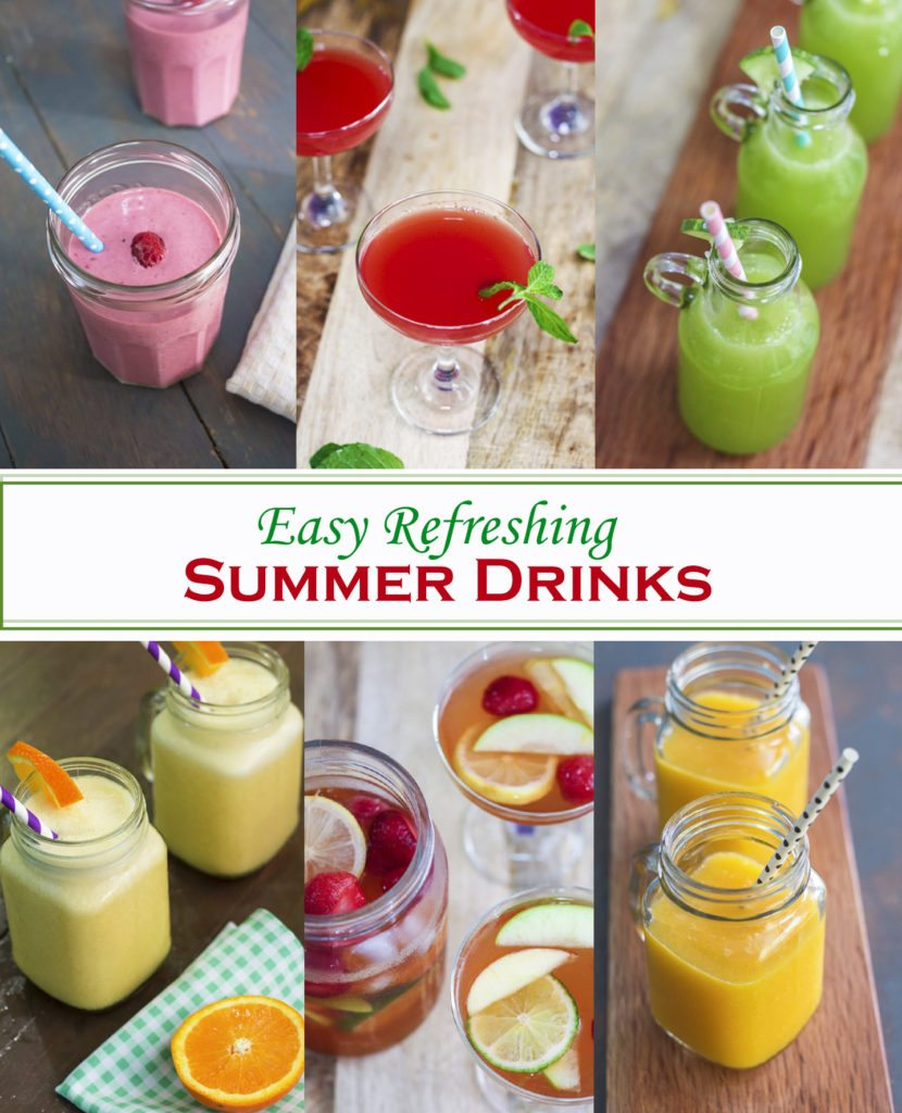 Easy Refreshing Summer Drinks