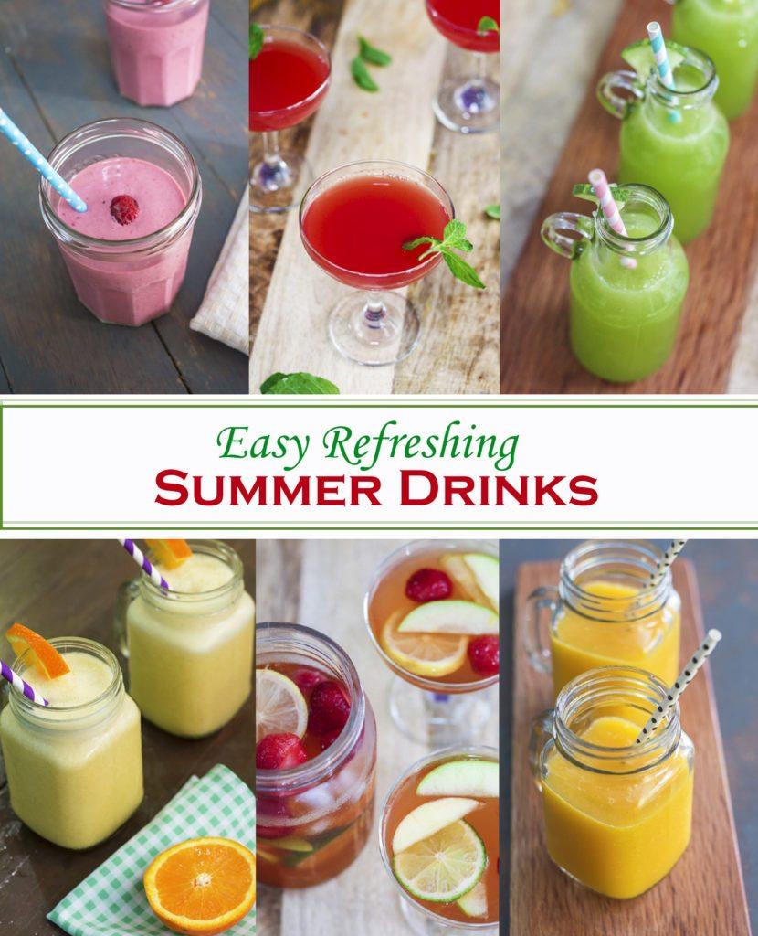 Easy Refreshing Summer Drinks