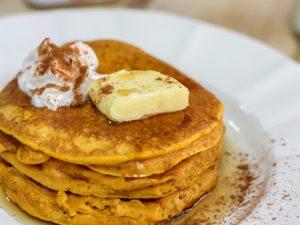 Delicious Pumpkin Spice Pancakes