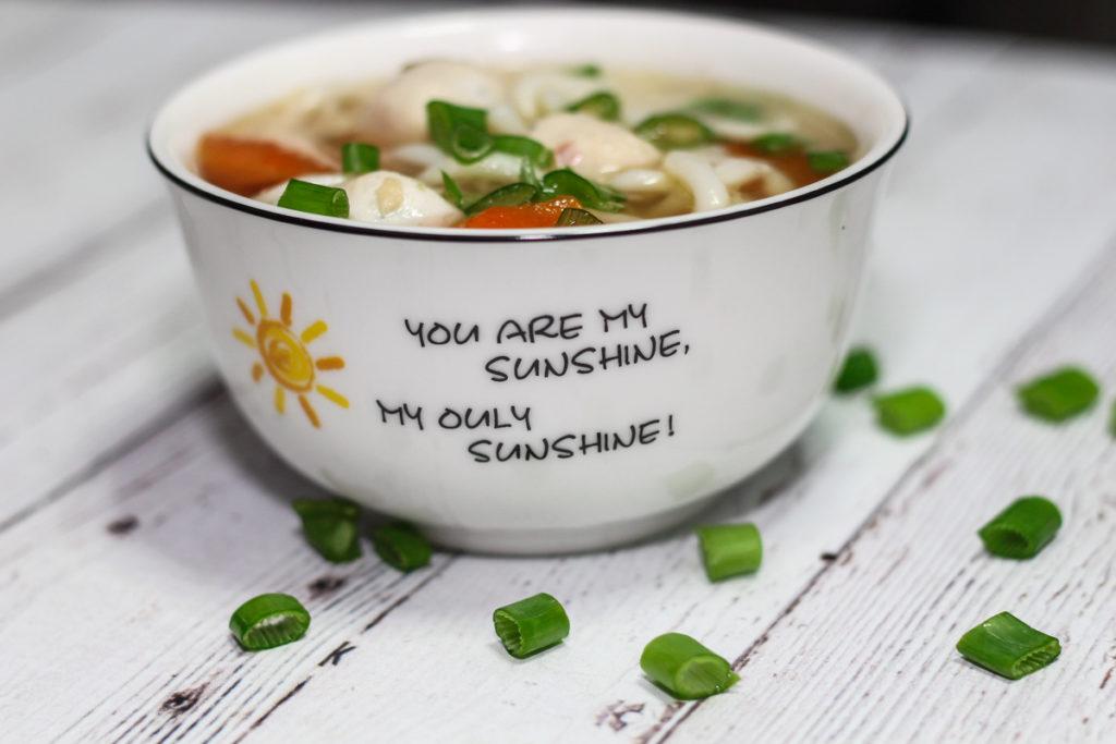 15 Minute Udon Noodle Soup