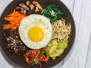 Korean Beef Bibimbap Recipe