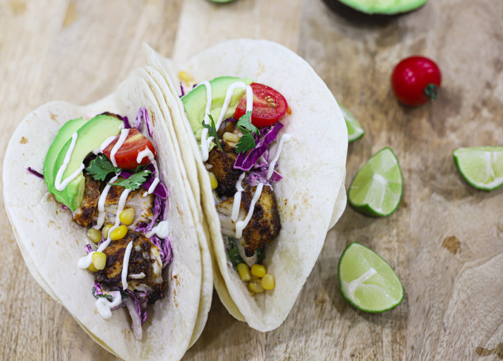 Easy Grilled Fish Tacos