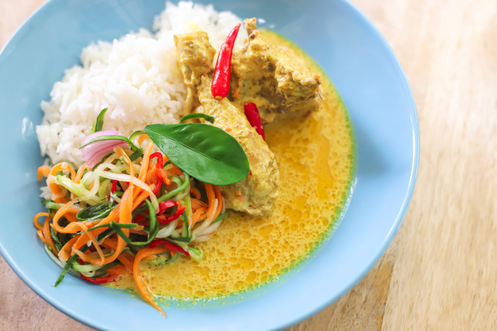 Ayam Masak Lemak Cili Padi recipe