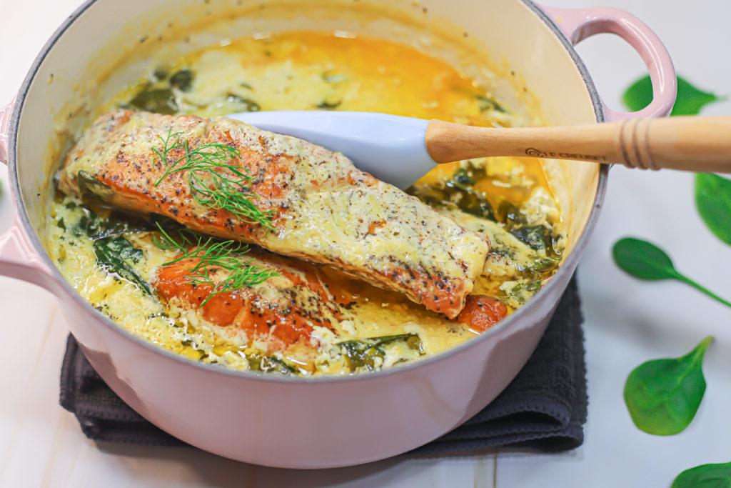 Creamy Garlic Butter Salmon