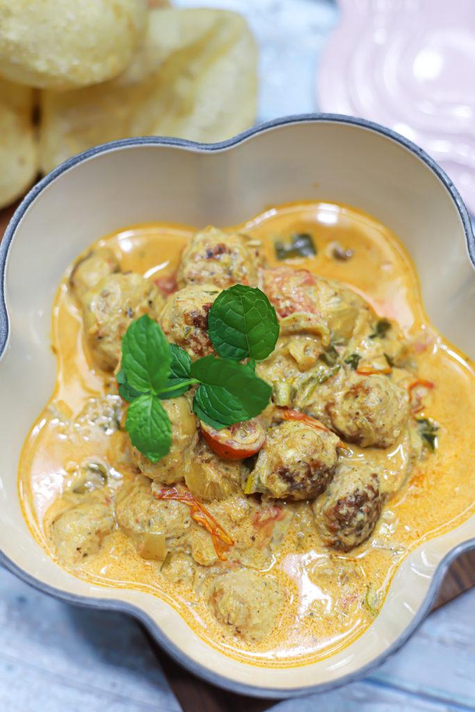 Butter Chicken Meatballs