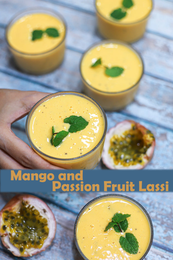 Mango And Passion Fruit Lassi