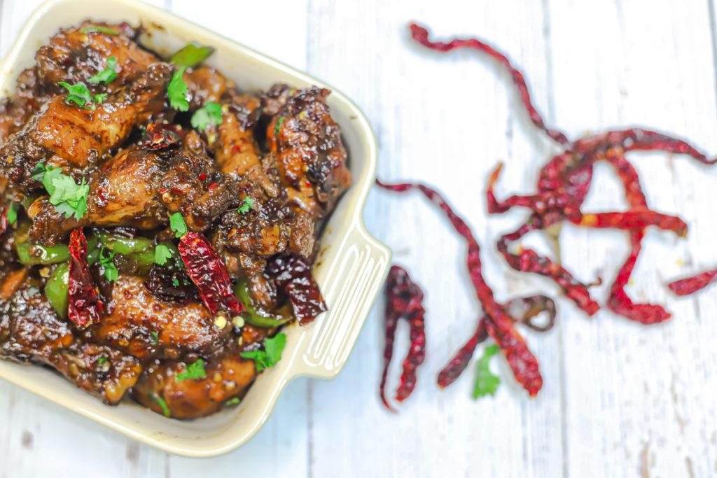 Chinese Dry Chilli Chicken