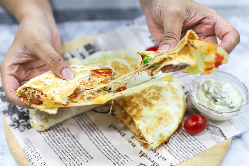 Chipotle Chicken Quesadillas