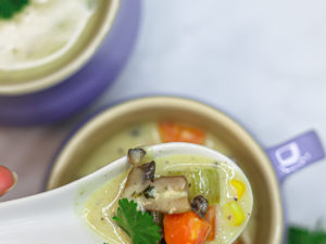 Delicious Creamy Chicken Soup