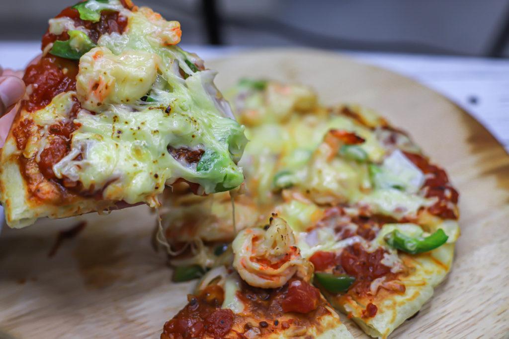 Easy Stovetop Pizza