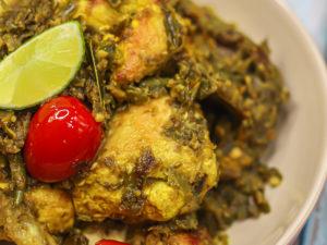 Ayam Berlado Hijau - Chicken in Green Chili Sambal